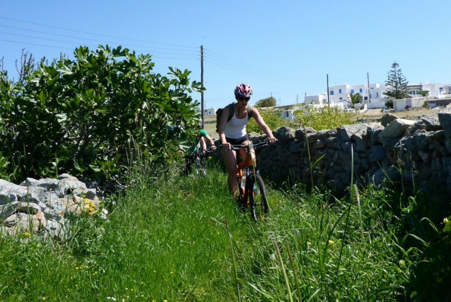 Off road cycling with Yummy Pedals in Mykonos